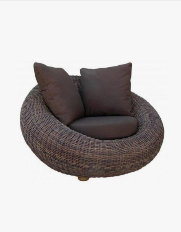 Кресло круглое